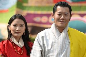 Người Bhutan rất tôn kính Đức vua