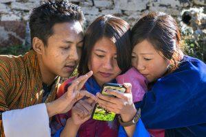 Dịch vụ 3g và internet tại Bhutan